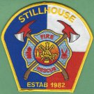 STILLHOUSE TEXAS FIRE RESCUE PATCH