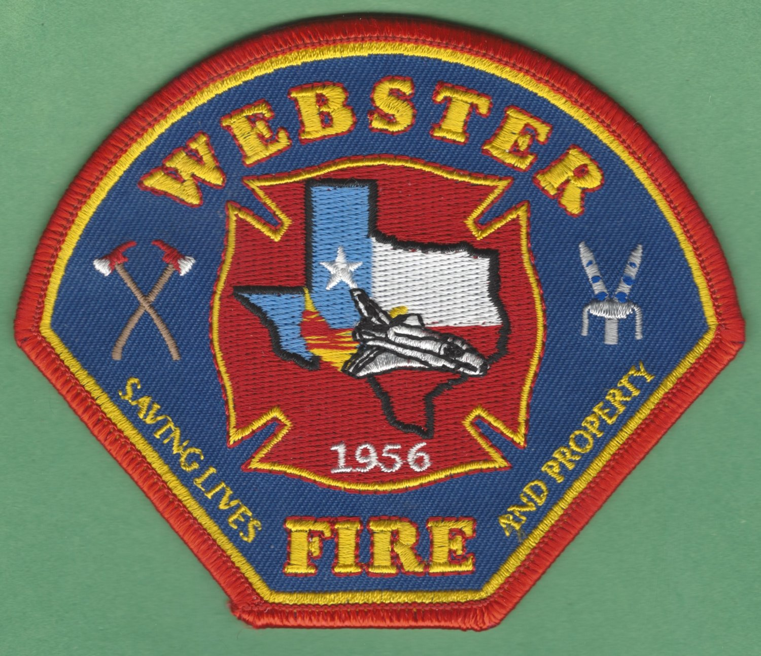 WEBSTER TEXAS FIRE RESCUE PATCH