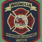 MAGNOLIA TEXAS FIRE RESCUE PATCH