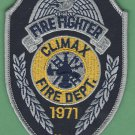 CLIMAX NORTH CAROLINA FIRE RESCUE PATCH