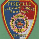 PIKESVILLE - PLEASANT GROVE NORTH CAROLINA FIRE RESCUE PATCH