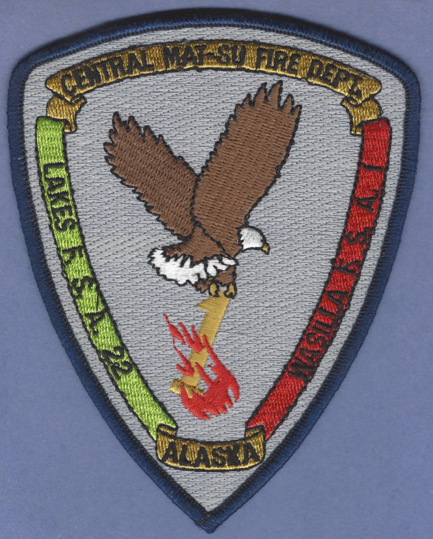 CENTRAL MAT-SU ALASKA FIRE RESCUE PATCH