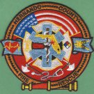 HERNANDINO COUNTY FLORIDA FIRE RESCUE PATCH