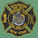 MALVERNE NEW YORK FIRE RESCUE PATCH