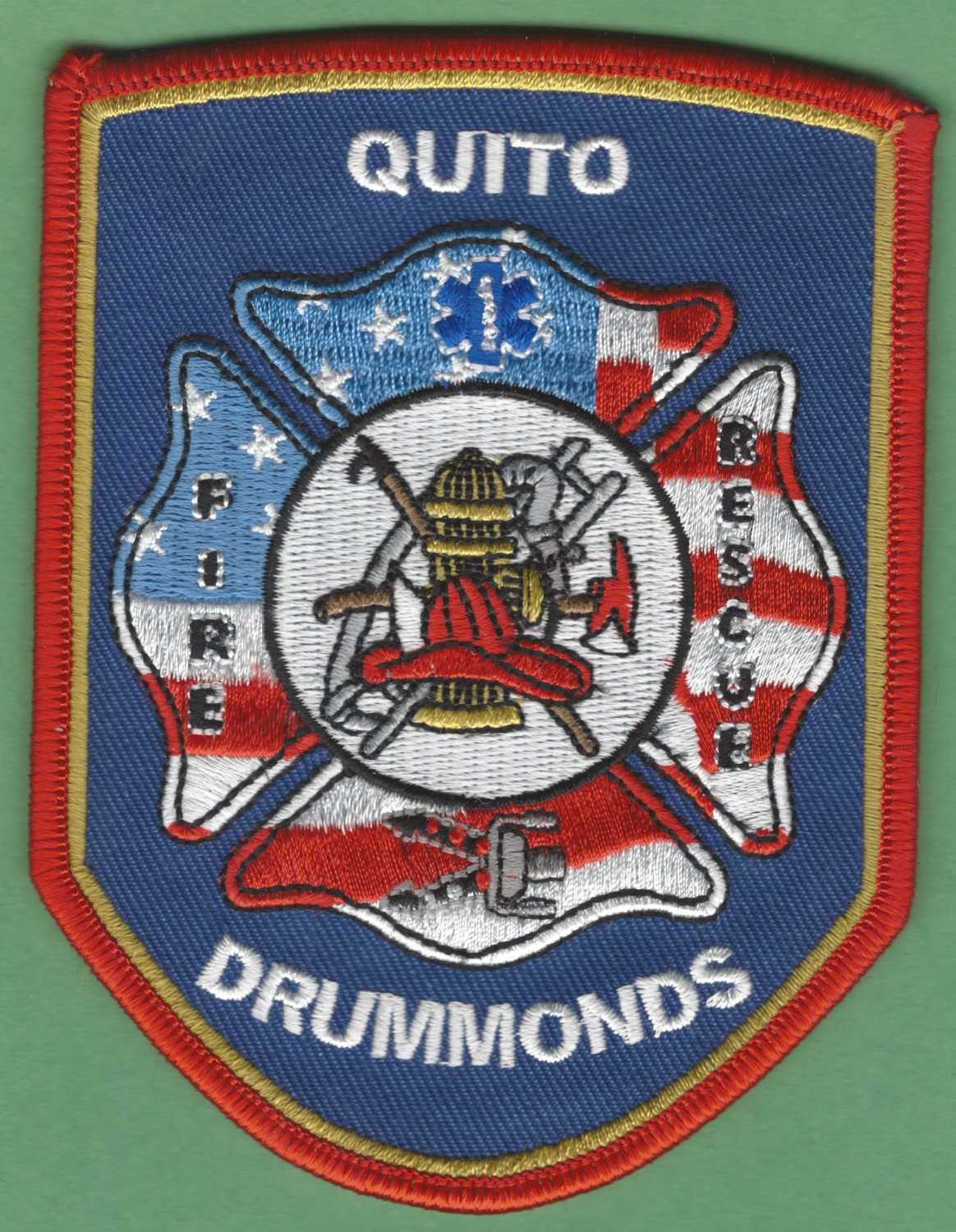 QUITO - DRUMMONDS TENNESSEE FIRE RESCUE PATCH