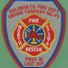 NORTH BALDWIN ALABAMA FIRE RESCUE PATCH