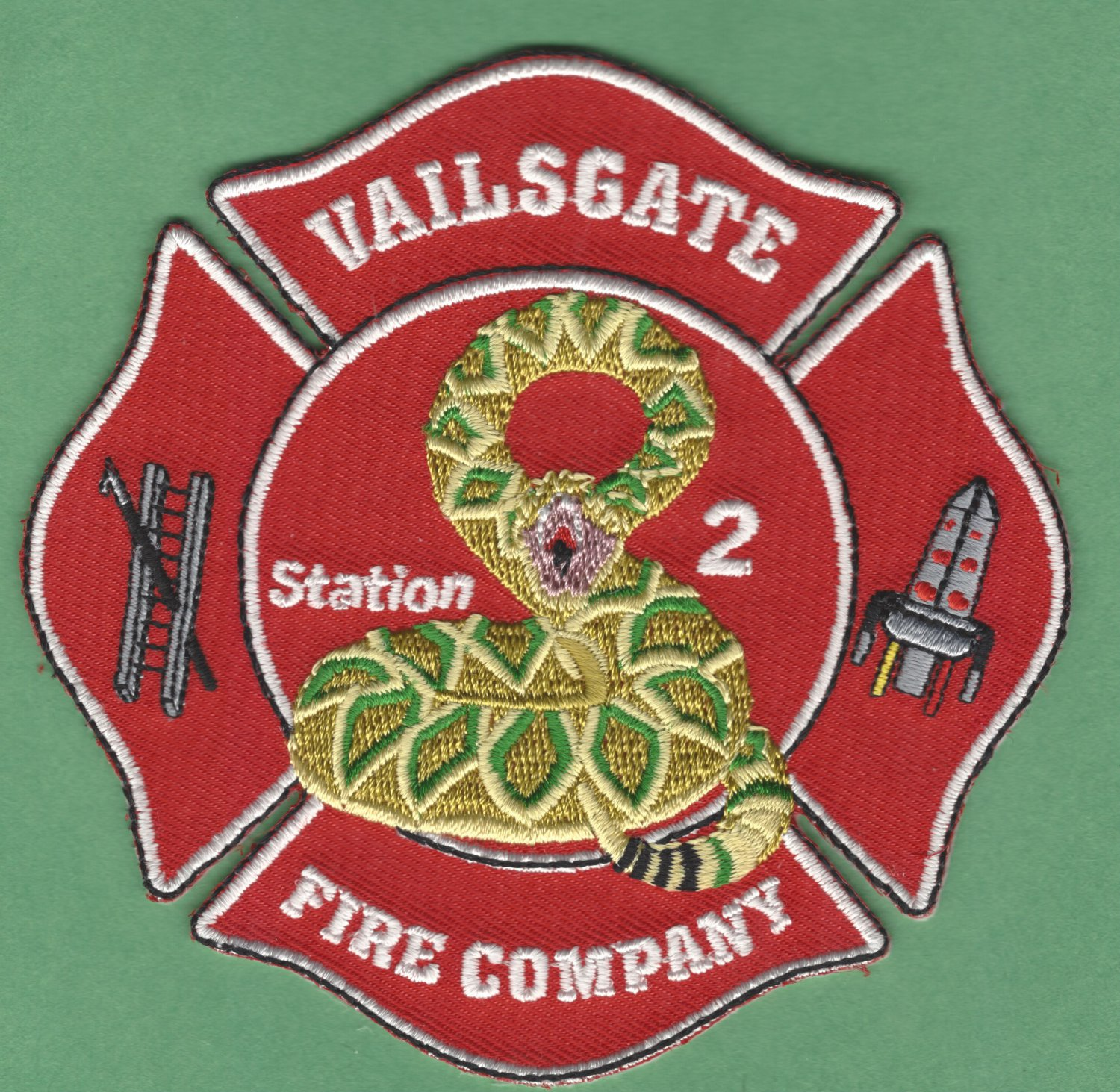 VAILSGATE NEW YORK FIRE RESCUE PATCH