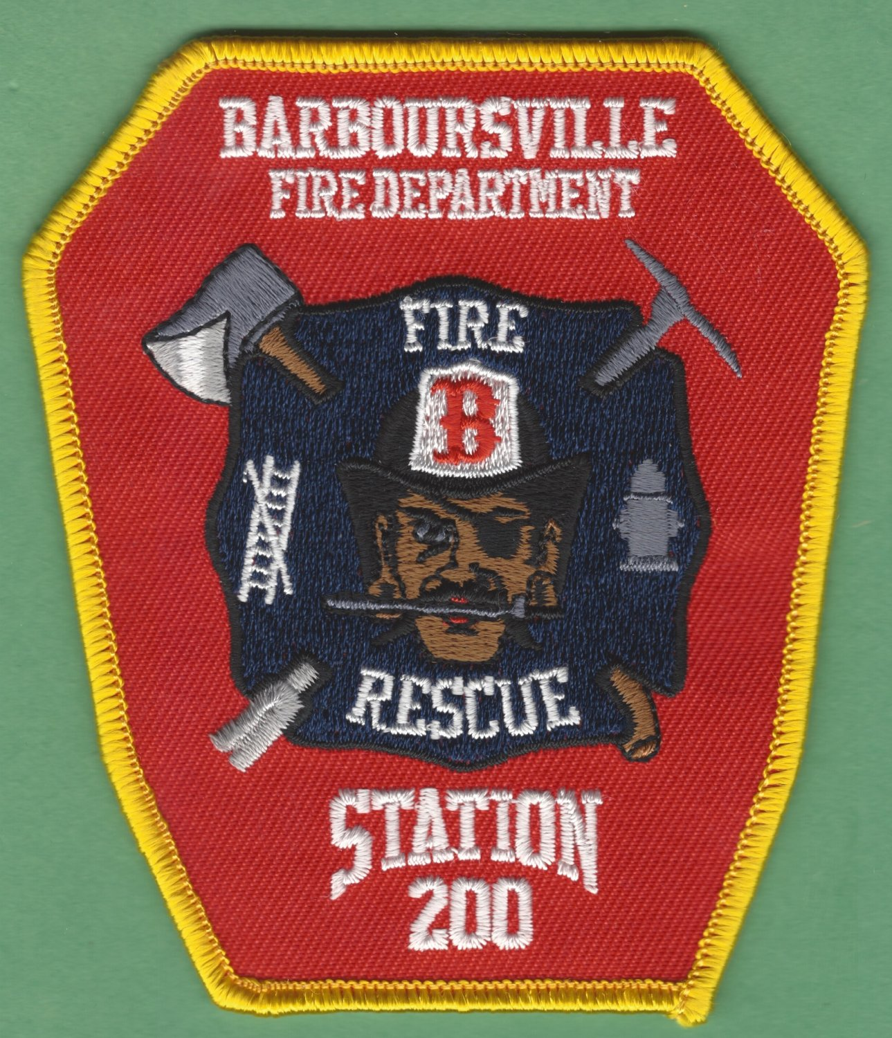BARBOURSVILLE VIRGINIA FIRE RESCUE PATCH
