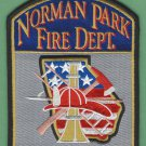 NORMAN PARK GEORGIA FIRE RESCUE PATCH