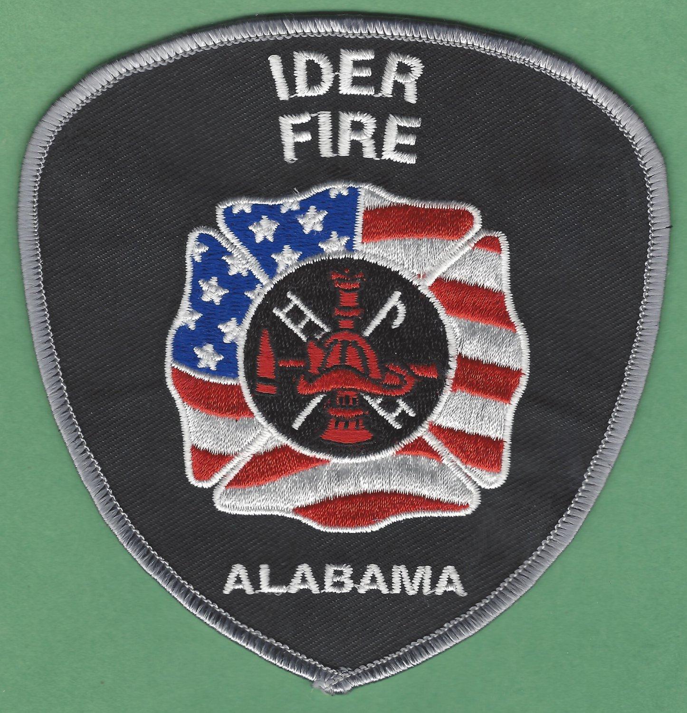 IDER ALABAMA FIRE RESCUE PATCH