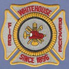 WHITEHOUSE OHIO FIRE RESCUE PATCH