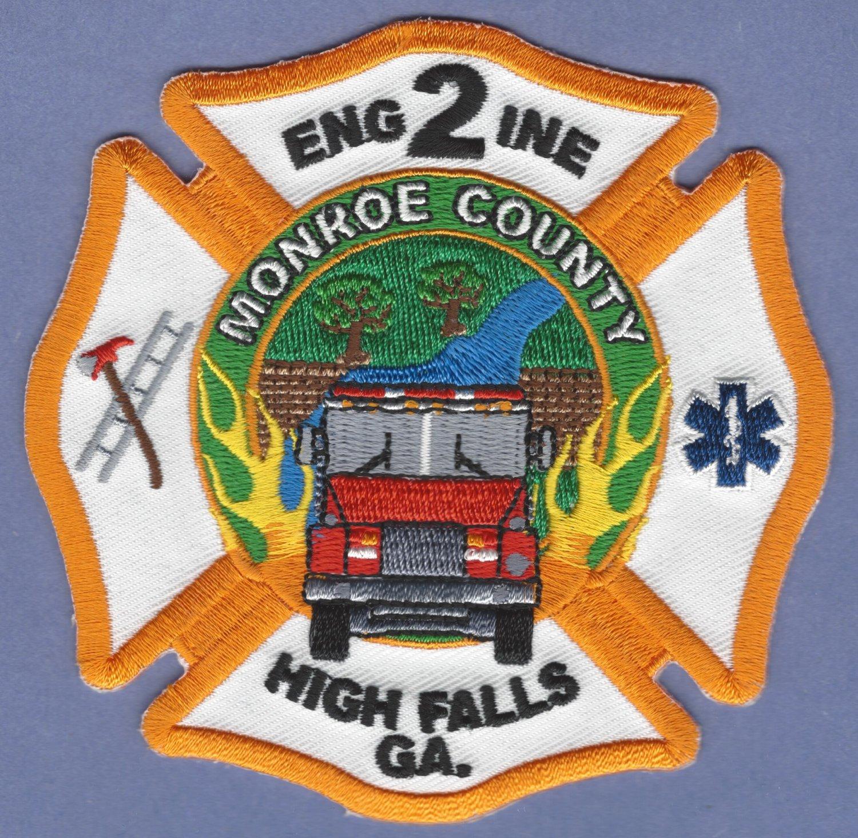HIGH FALLS GEORGIA FIRE RESCUE PATCH