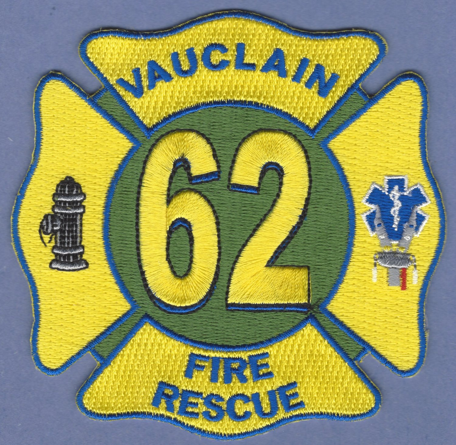 VULCLAIN PENNSYLVANIA FIRE RESCUE PATCH