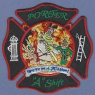 PORTER TEXAS FIRE RESCUE PATCH