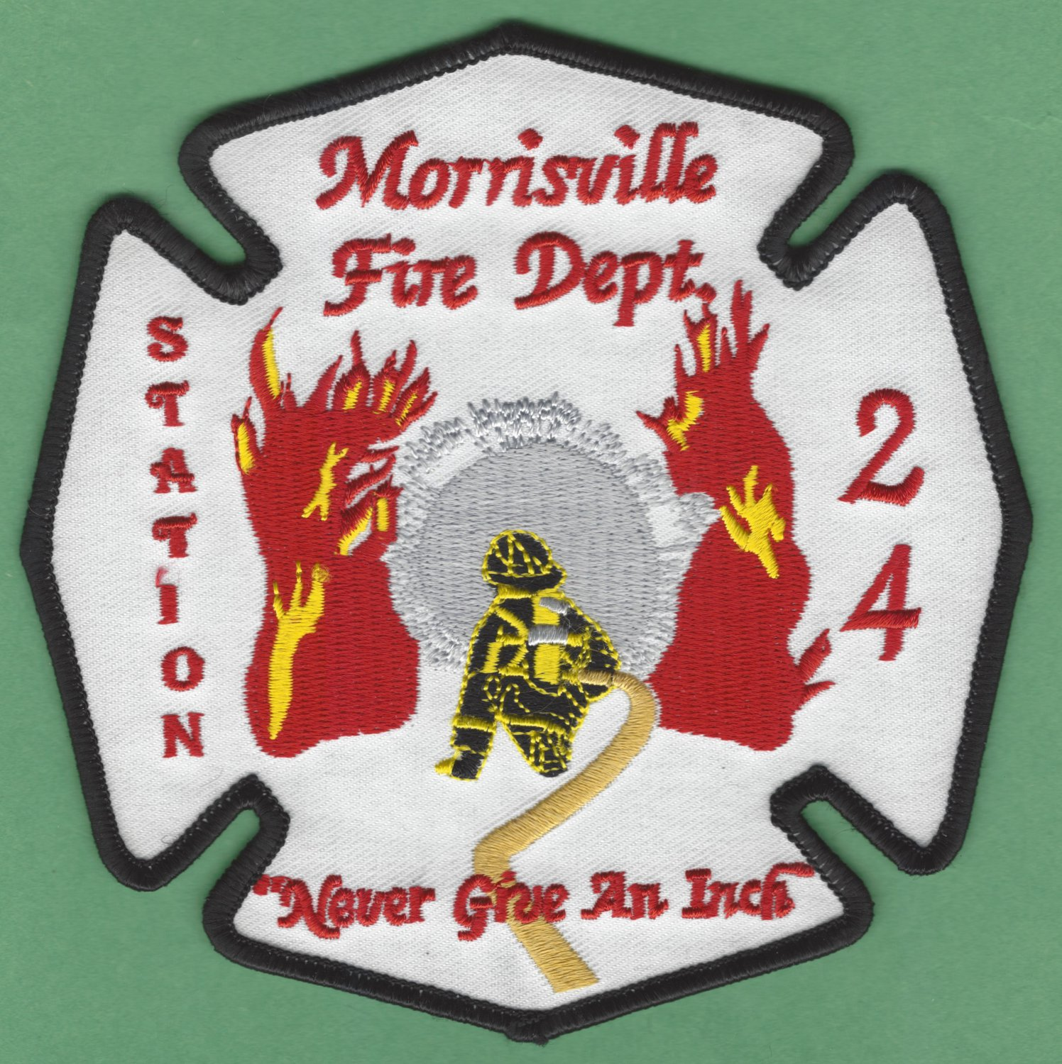 MORISVILLE NEW JERSEY FIRE RESCUE PATCH