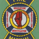 IREDELL COUNTY NORTH CAROLINA FIRE MARSHAL PATCH