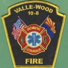 VALLE - WOOD ARIZONA FIRE RESCUE PATCH
