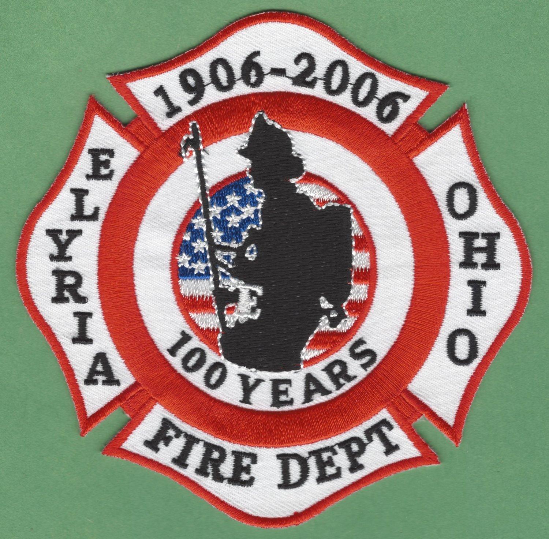 ELYRIA OHIO FIRE RESCUE PATCH