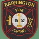 BARRINGTON NEW JERSEY FIRE RESCUE PATCH