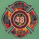 NORTH 48 OKLAHOMA FIRE RESCUE PATCH
