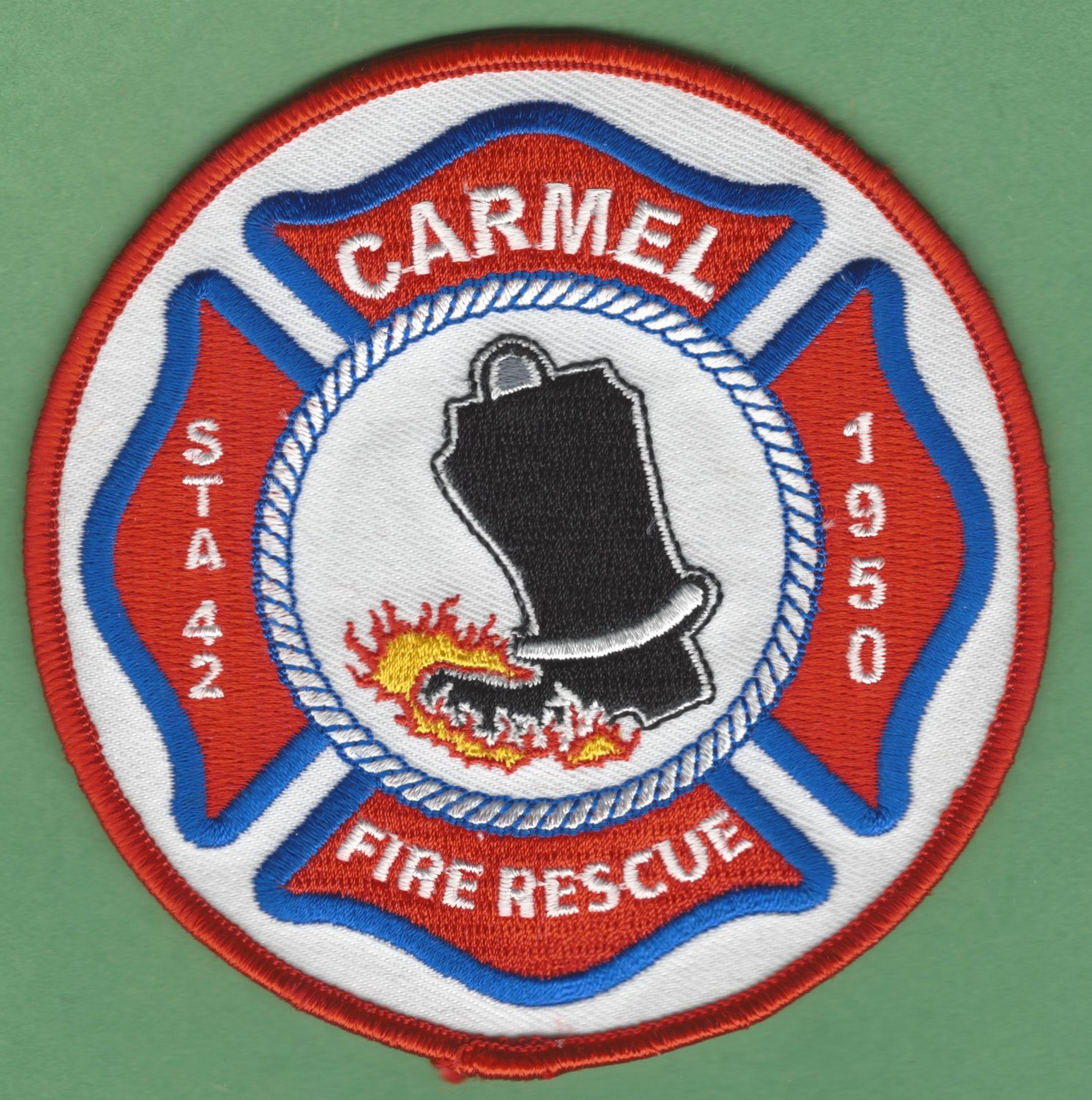 CARMEL INDIANA FIRE RESCUE PATCH