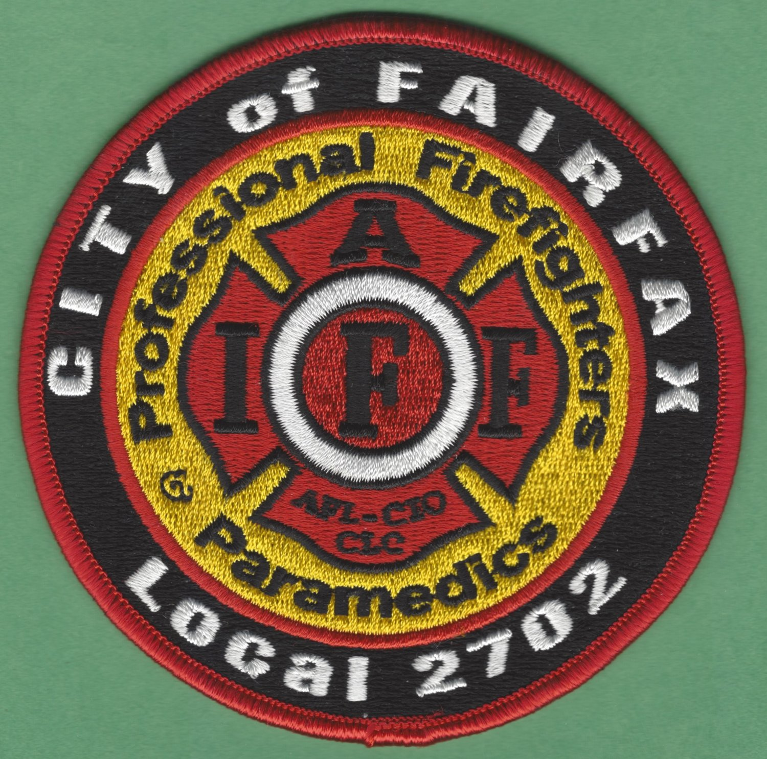 FAIRFAX VIRGINIA FIRE RESCUE PATCH