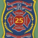 MONROE TOWNSHIP PENNSYLVANIA FIRE RESCUE PATCH