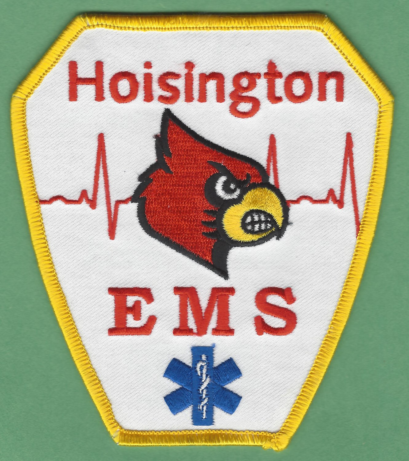 HOISINGTON KANSAS EMS EMERGENCY MEDICAL SERVICE AMBULANCE PATCH