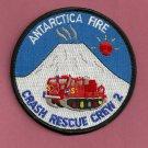 McMurdo Antarctica U.S. Naval Base Fire Rescue Crew 2 Patch