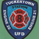 UNION FIRE DISTRICT TUCKERTOWN RHODE ISLAND FIRE RESCUE PATCH