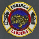 Manhattan New York Engine 9 Ladder 6 Fire Company Patch
