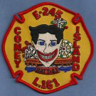Brooklyn New York Engine 245 Ladder 161 Fire Company Patch