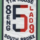 Bronx New York Engine 85 Ladder 59 Fire Company Patch