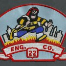 Manhattan New York Engine Company 22 Fire Patch
