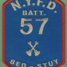 Brooklyn New York Battalion Chief 57 Fire Company Patch