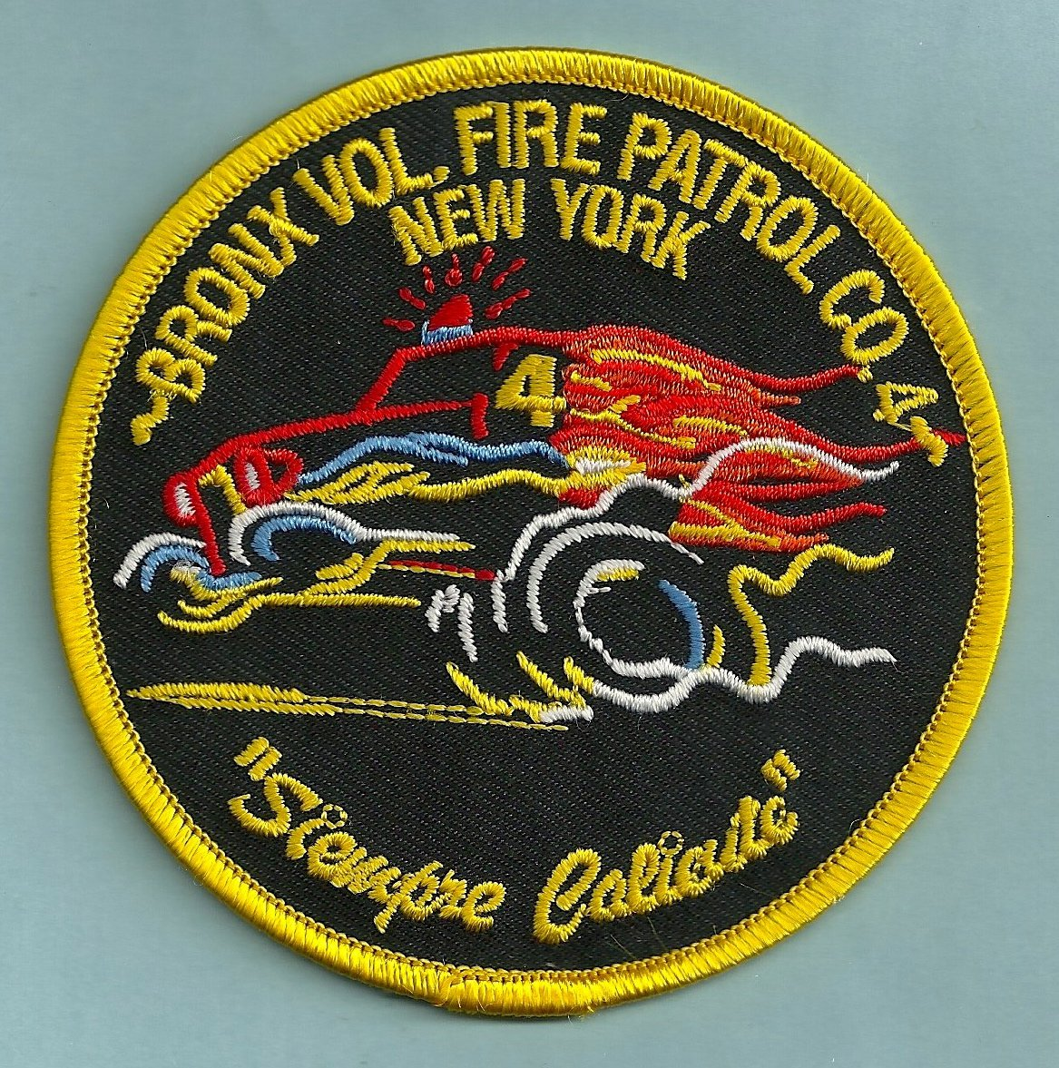 Bronx New York Fire Patrol 4 Patch