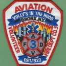 Bronx New York Aviation Volunteer Fire Company 3 Patch