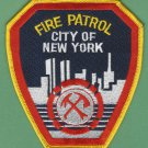 New York Fire Department Fire Patrol Patch