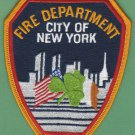 New York Fire Department Emerald Society Patch