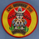 Brooklyn New York Engine Company 218 Fire Patch