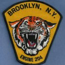 Brooklyn New York Engine Company 204 Fire Patch