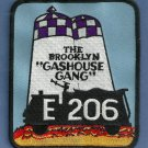 Brooklyn New York Engine Company 206 Fire Patch