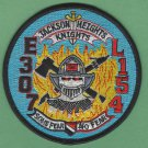 Queens New York Engine 307 Ladder 154 Company Fire Patch