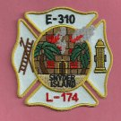 Brooklyn New York Engine Company 310 Fire Patch