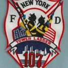 Queens New York Ladder Company 117 Fire Patch