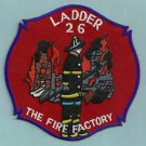 Harlem New York Ladder Company 26 Fire Patch