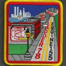Staten Island New York Engine 155 Ladder 78 Company Fire Patch