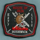 Brooklyn New York Engine 277 Ladder 112 Fire Company Patch