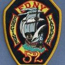 Bronx New York Engine 52 Ladder 52 Company Fire Patch