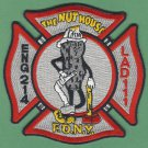 Brooklyn New York Engine 214 Ladder 111 Fire Company Patch